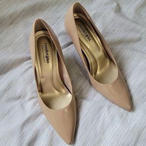 Comfort plus nude heels